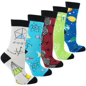 Weird Science 5 Pair Sock Set | I'm Spoiled - Sp-oiled!