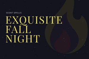 Exquisite Fall Night Candle