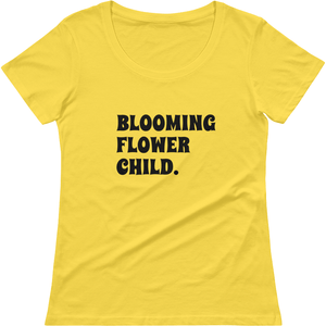 Bloom Ladies' Scoopneck T-Shirt - Sp-oiled!