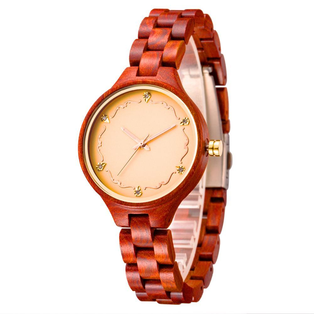 Sandalwood Oyster Band Wristwatch - Sp-oiled!