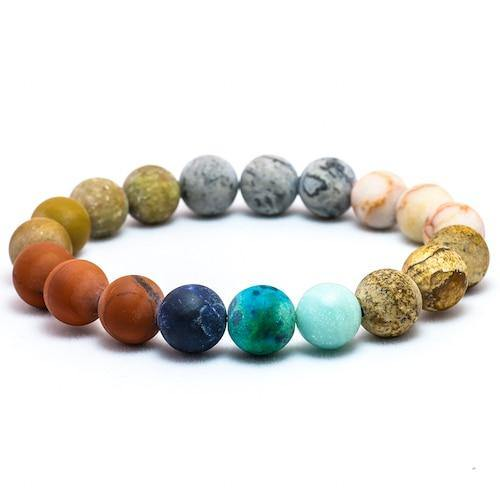 Planets in our Solar System Natural Stone Bracelet - Sp-oiled!