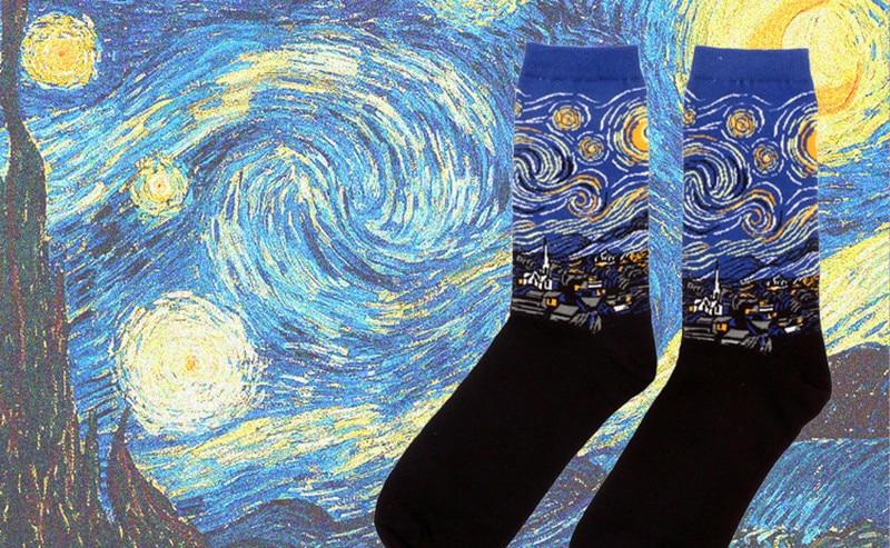 My Socks are Works of Art, No Really