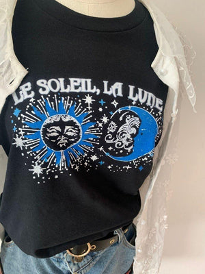 Le Soleil La Lune - Sun And Moon Printed T-Shirt | I'm Spoiled