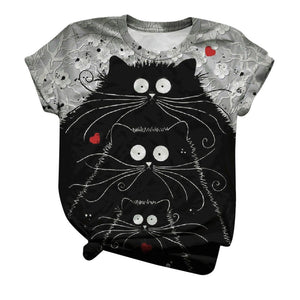 Merry Catmas Christmas T-shirt | I'm Spoiled - Sp-oiled!