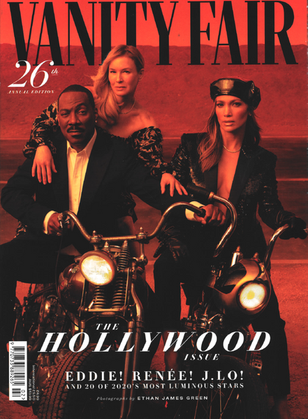 'As Seen In'  Vanity Fair Hollywood Issue