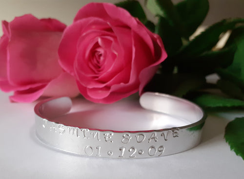 'Memories To Treasure' Cuff Bracelet