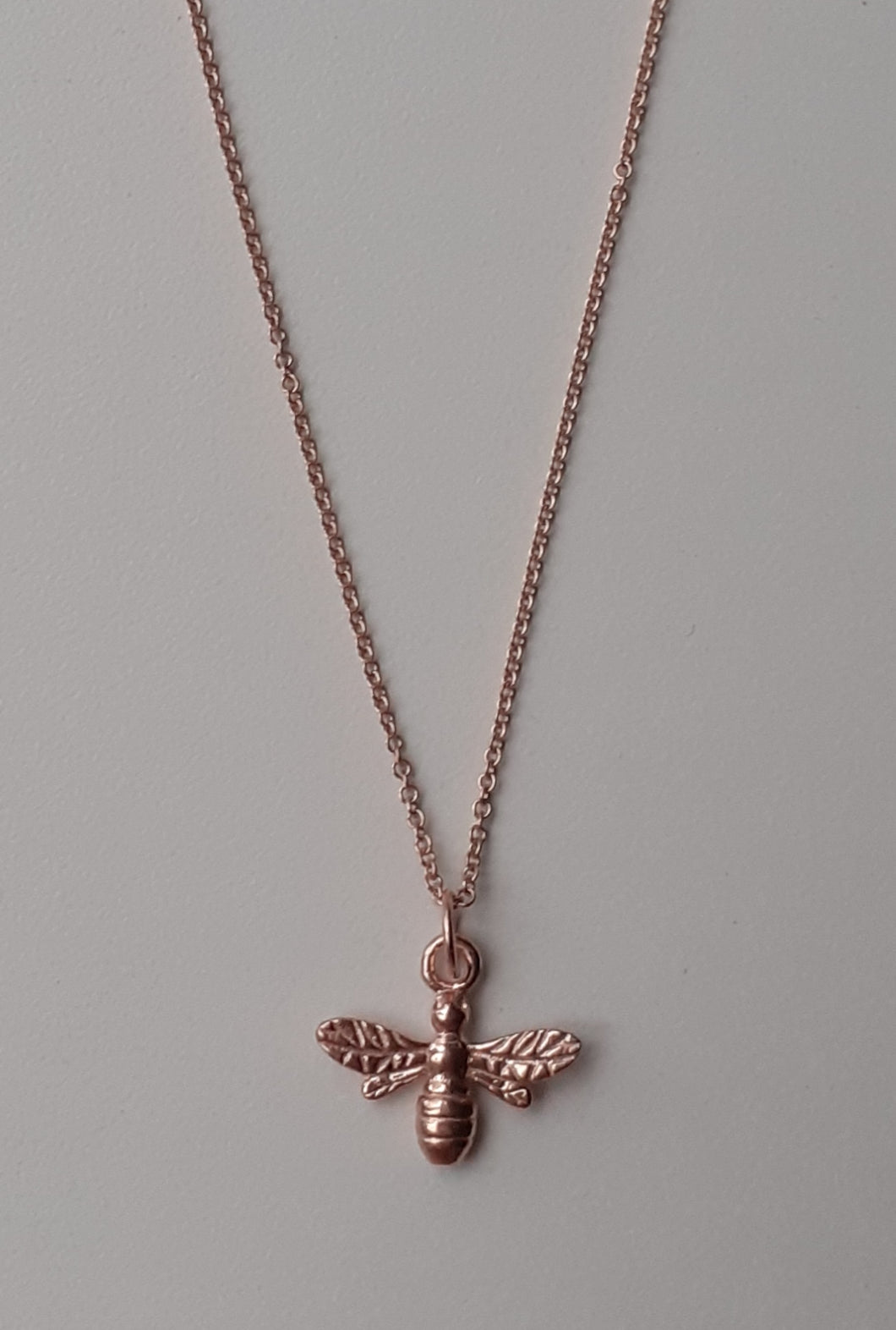 Rose Gold Vermeil Bee Necklace