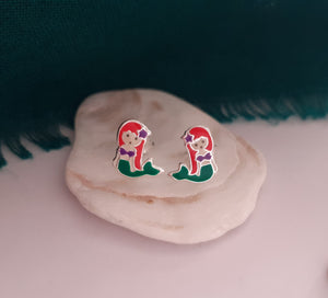 Arial inspired earrings