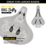 Big Softy V1 Exercise Seat Kit with Rain Cover and Tool