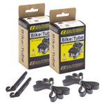 eastern bikes black 2 pack 20 inch tube kit with tire lever and rim strips
