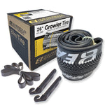eastern bikes 26 inch tire repair kit 1-pack black and silver