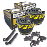 "Growler 26"" Tire Repair Kit Black/Yellow - 2 pack"