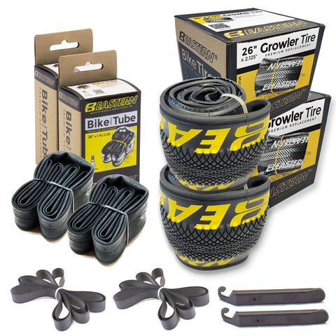 "Growler 26"" Tire and Tube Repair Kit Black/Yellow - 2 pack"