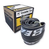 eastern bikes 26 inch growler tires black silver