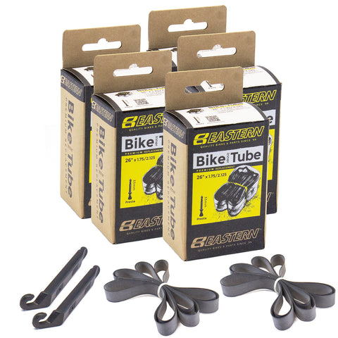eastern bikes 26 inch bike tubes 5-pack