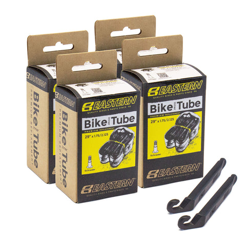 eastern bikes 29 inch tube repair kit schrader valve 4 pack