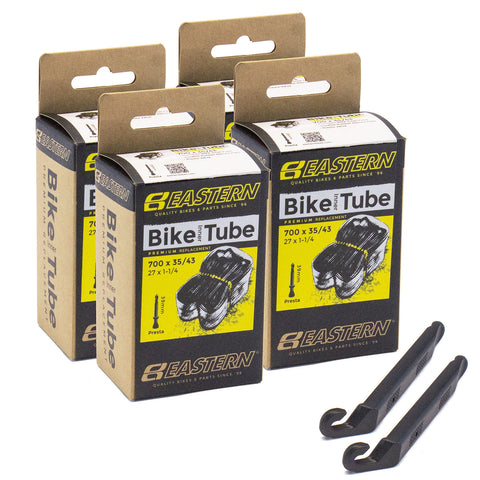 700c Tube Repair Kit (4-pack)- Presta Valve 39mm