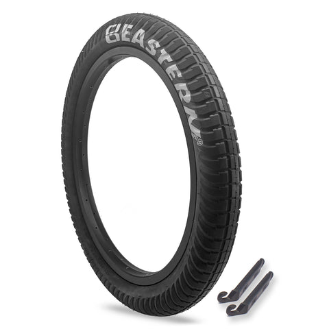 "Curb Monkey 20"" x 2.4"" Tire Repair Kit Black/Silver - 1 pack"