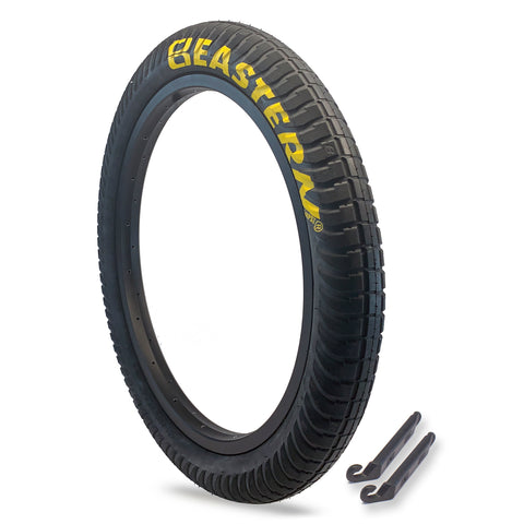 "Curb Monkey 20"" x 2.4"" Tire Repair Kit Black/Yellow - 1 pack"