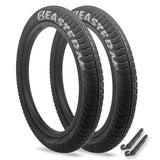 "Curb Monkey 20"" x 2.4"" Tire Repair Kit Black/Silver - 2 pack"