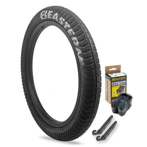 "Curb Monkey 20"" x 2.4"" Tire and Tube Repair Kit Black/Silver - 1 pack"