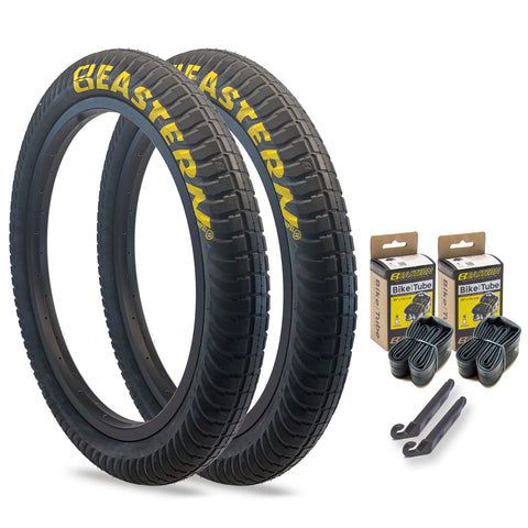 "Curb Monkey 20"" x 2.4"" Tire and Tube Repair Kit Black/Yellow - 2 pack"