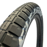 eastern bikes 20 inch curb monkey tires 100psi black and silver
