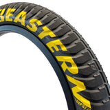 eastern bikes 20 inch curb monkey tires 100psi black and yellow