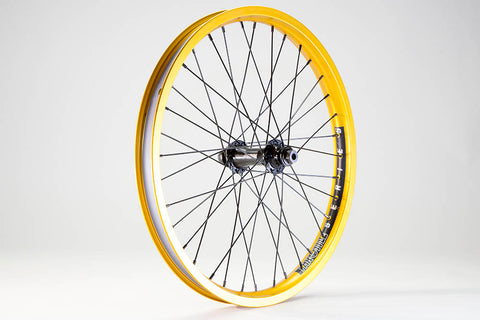 Throttle OEM Front Wheel Female Matte Gold Ano