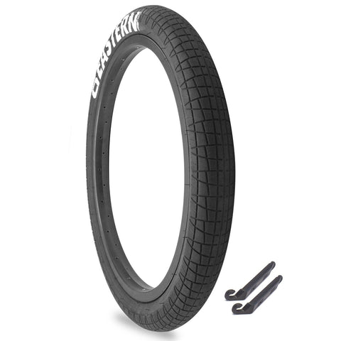 "Throttle 20"" x 2.3"" Tire Repair Kit Black/White - 1 pack"