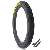 "Throttle 20"" x 2.2"" Tire Repair Kit Black/Yellow - 1 pack"