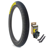 "Throttle 20"" x 2.2"" Tire and Tube Repair Kit Black/Yellow - 1 pack"
