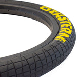 "Throttle 20"" x 2.2"" Tire and Tube Repair Kit Black/Yellow - 2 pack"