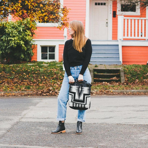 Chelsea + Cuffed Jeans