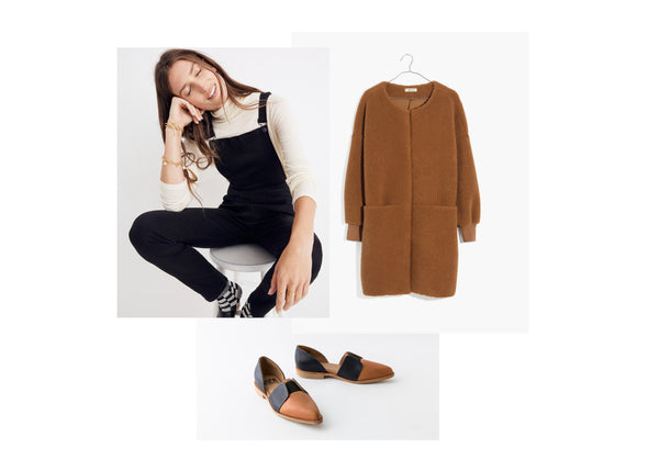 Paloma Fall Outfit - Fortress of Inca Leather Shoes