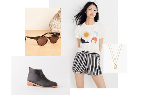 get festival ready - fortress of inca cara boot pairs great with shorts and crop tops