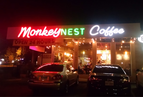 Monkey Nest Coffee - Austin Coffee Guide