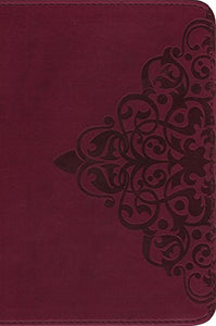 Niv, Single-Column Bible, Leathersoft, Burgundy