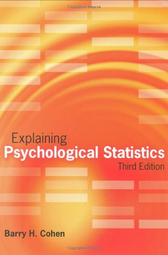 Explaining Psychological Statistics, 3Rd Edition
