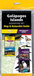 Galapagos Islands Adventure Set: Map & Naturalist Guide