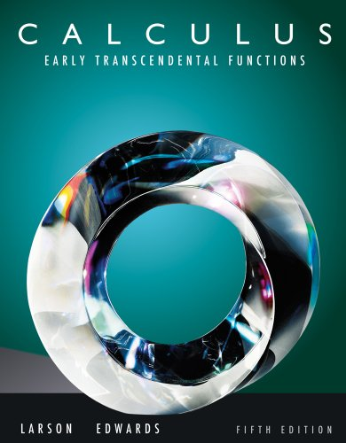 Bundle: Calculus: Early Transcendental Functions, 5Th + Webassign Printed Access Card For Larson/Edwards' Calculus: Early Transcendental Functions, 5Th Edition, Multi-Term