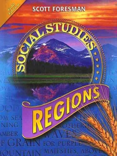 Social Studies 2008 Student Edition (Hardcover) Grade 4 Regions
