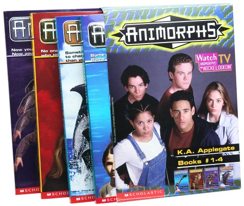 Animorphs Box Set (Books 1-4)