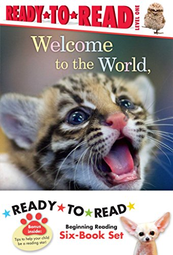 Zooborns Ready-To-Read Value Pack: Welcome To The World, Zooborns!; Nighty Night, Zooborns; Hello, Mommy Zooborns!; I Love You, Zooborns!; Splish, Splash, Zooborns!; Snuggle Up, Zooborns!