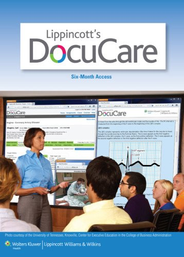 Lww Docucare Two-Year Access Plus Lynn 3E Text Package