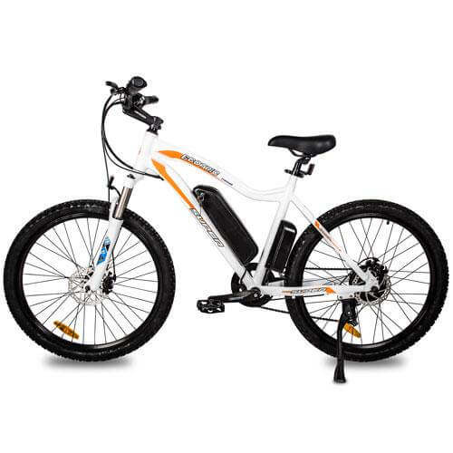 Ecotric Leopard Electric Mountain Bike - White