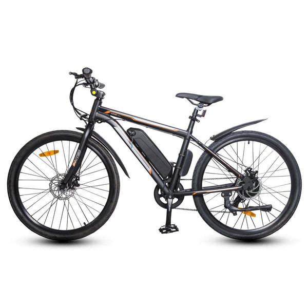 Ecotric Vortex Electric City Bike - Matt Black