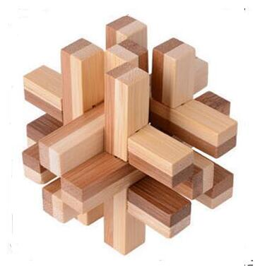Awpt24 Classic Iq Puzzle Mind Brain Teaser 2d 3d Wooden Puzzles Educational Game Toys For Adults And Children