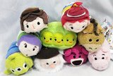 "Disney Store Toy Story Tsum Tsum Complete Set of 9 Mini 3.5"" - Buzz, Woody, Jessie, Bullseye, Hamm, Alien, Peas, Bear, Stinky Pete"