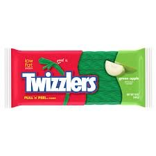 Twizzlers Green Apple Pull N Peel, 12-Ounce Bag